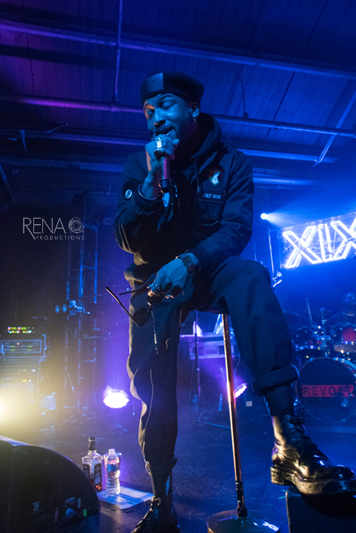 Ro James perfoms in Houston, Texas